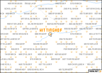 map of Wittinghof