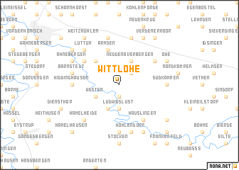 map of Wittlohe