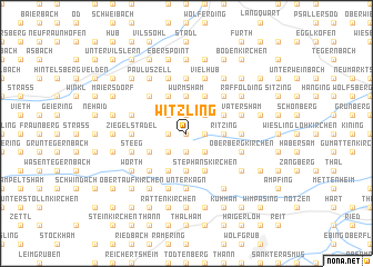map of Witzling