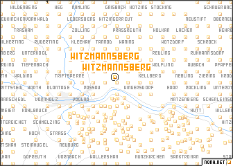 map of Witzmannsberg