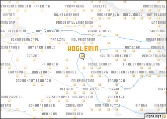 map of Wöglerin