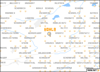 map of Wohla