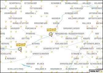 map of Wöhr