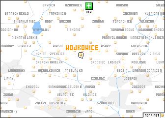 map of Wojkowice