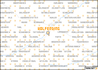 map of Wolferding
