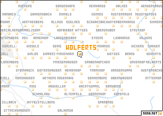 map of Wolferts