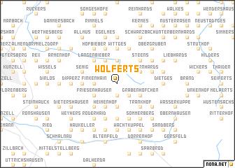 map of Wolferts