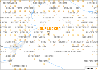 map of Wolflucken
