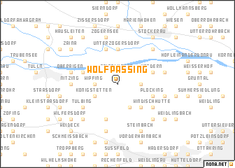 map of Wolfpassing