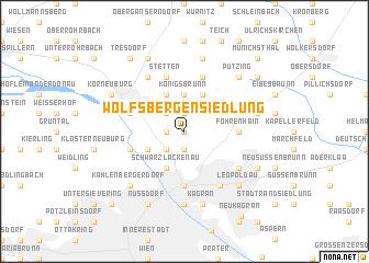 map of Wolfsbergen-Siedlung