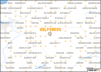 map of Wolfsberg