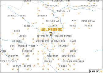 map of Wolfsberg