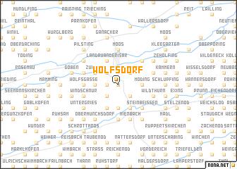 map of Wolfsdorf