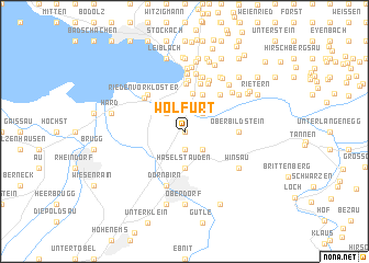 map of Wolfurt