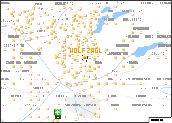 map of Wolfzagl