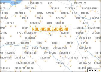 map of Wólka Sulejowska