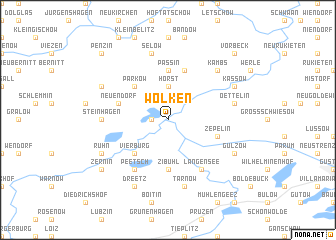 map of Wolken