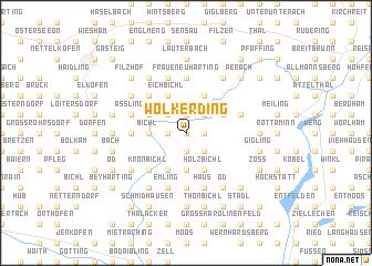 map of Wolkerding