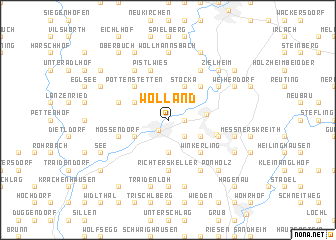 map of Wölland