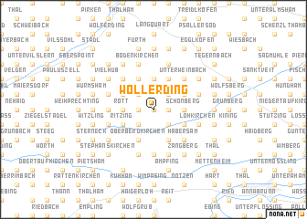 map of Wollerding