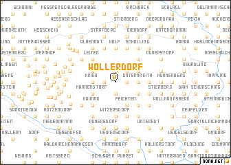 map of Wollerdorf