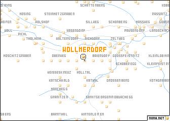 map of Wöllmerdorf