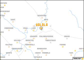 map of Wolola