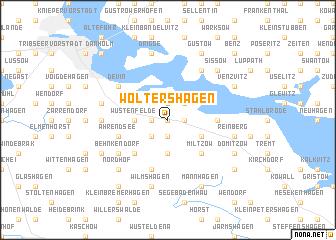map of Woltershagen