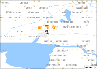 map of Wolthusen