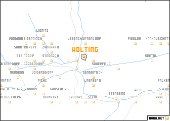 map of Wölting