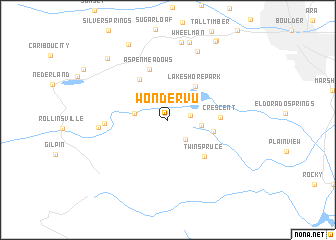 map of Wondervu