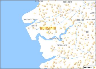 map of Wŏnsim-ni