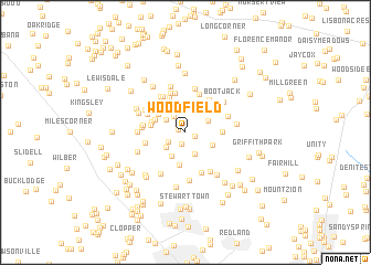 map of Woodfield