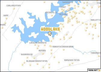map of Woodlake