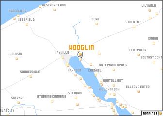 map of Wooglin