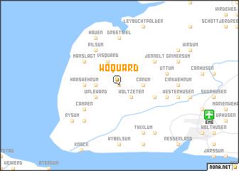 map of Woquard