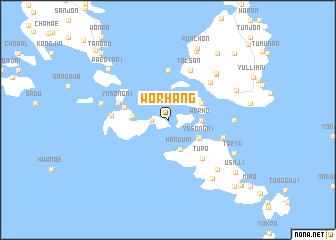 map of Wŏrhang