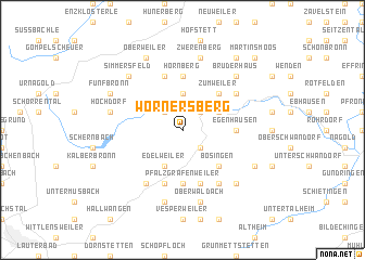 map of Wörnersberg