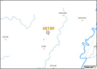 map of Wotap