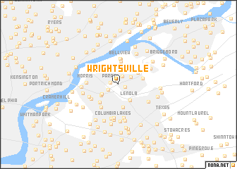 map of Wrightsville
