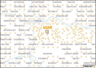 map of Wühr