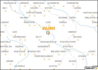 map of Wujaki