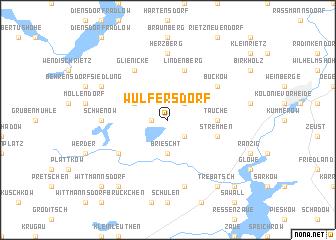 map of Wulfersdorf