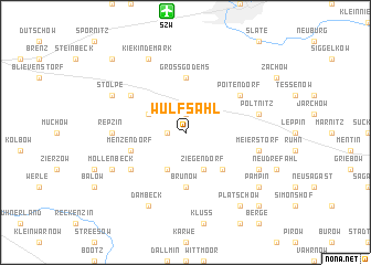 map of Wulfsahl