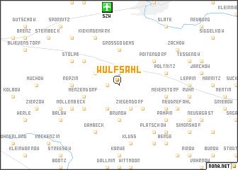 map of Wulfsahl