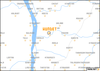 map of Wundet