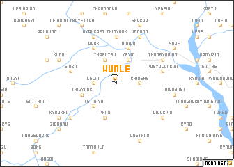 map of Wunle