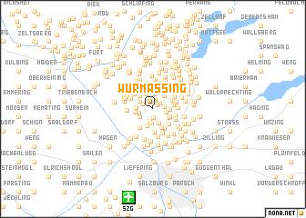map of Wurmassing