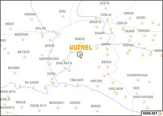 map of Wūrmēl