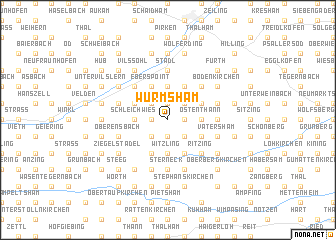map of Wurmsham